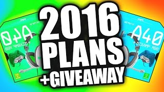 ASTRO HEADSET GIVEAWAY + James Geary 2016 Channel Plans (Black Ops 3)