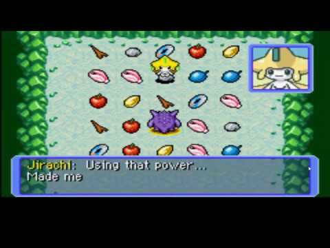 Pokemon Mystery Dungeon Red Rescue Team All Jirachi's Wishes (Wish Cave)