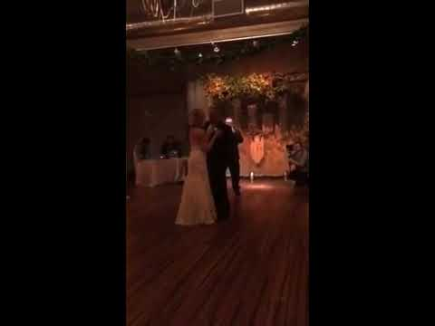 "Bob Carlisle Sings "" In Person "" Butterfly kisses to The Bride & Father"