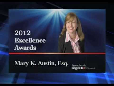 Mary K. Austin, Esq.- 2012 PLAN Excellence Award