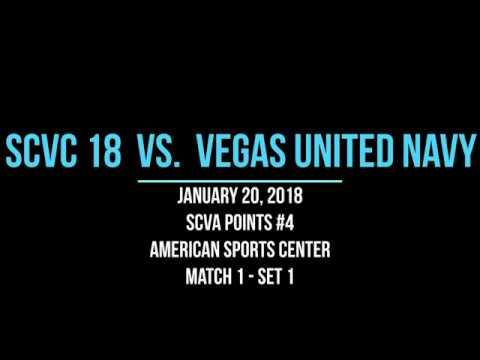 2018 01 20 Match1 SCVC18 vs Vegas United Navy BACK