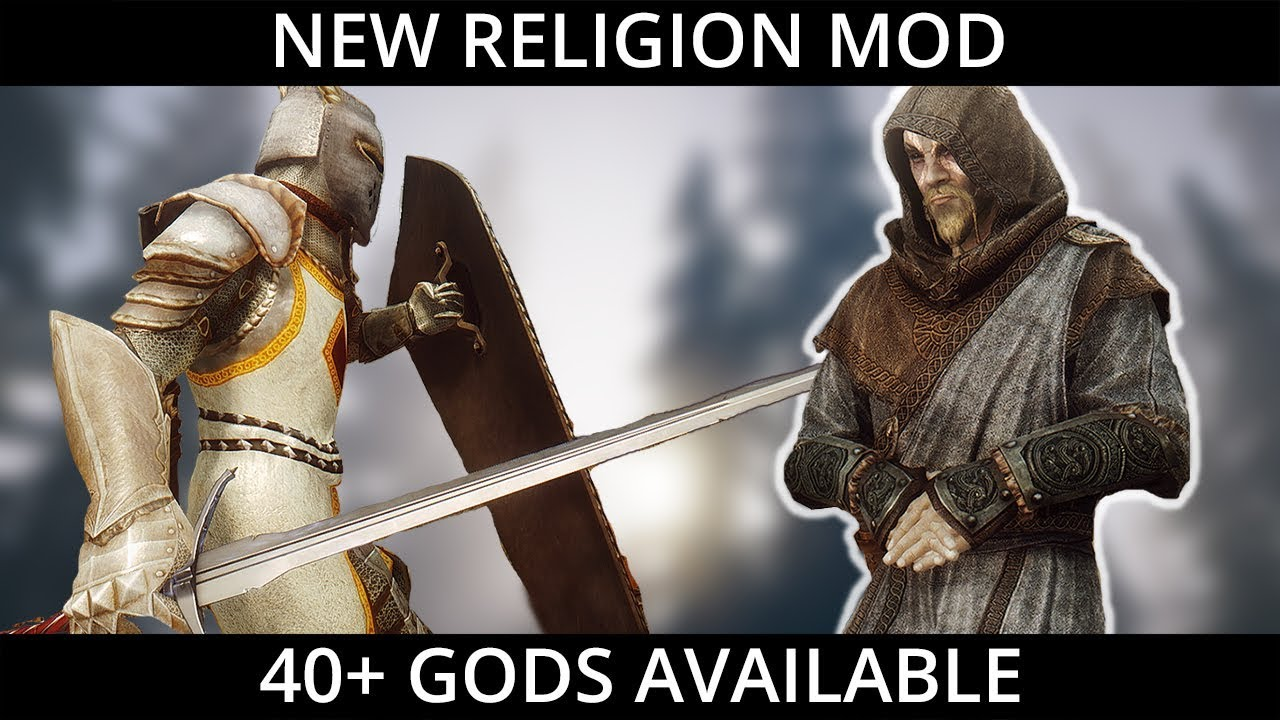 Big News - Upcoming Skyrim Religion Mod from author of Ordinator | (PC,  XBOX)