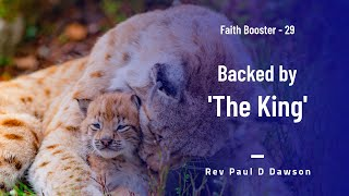 Faith Booster 29 - Backed by The King