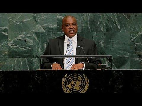 Botswana's new president urges Congo's Kabila not to stand again
