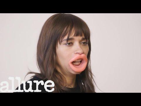 Rashida Jones Reviews Weird Beauty Products | Allure