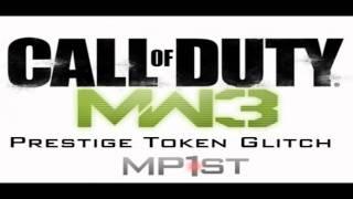 MW3 Prestige Token Glitch Will Result In Ban?!?! Must watch!