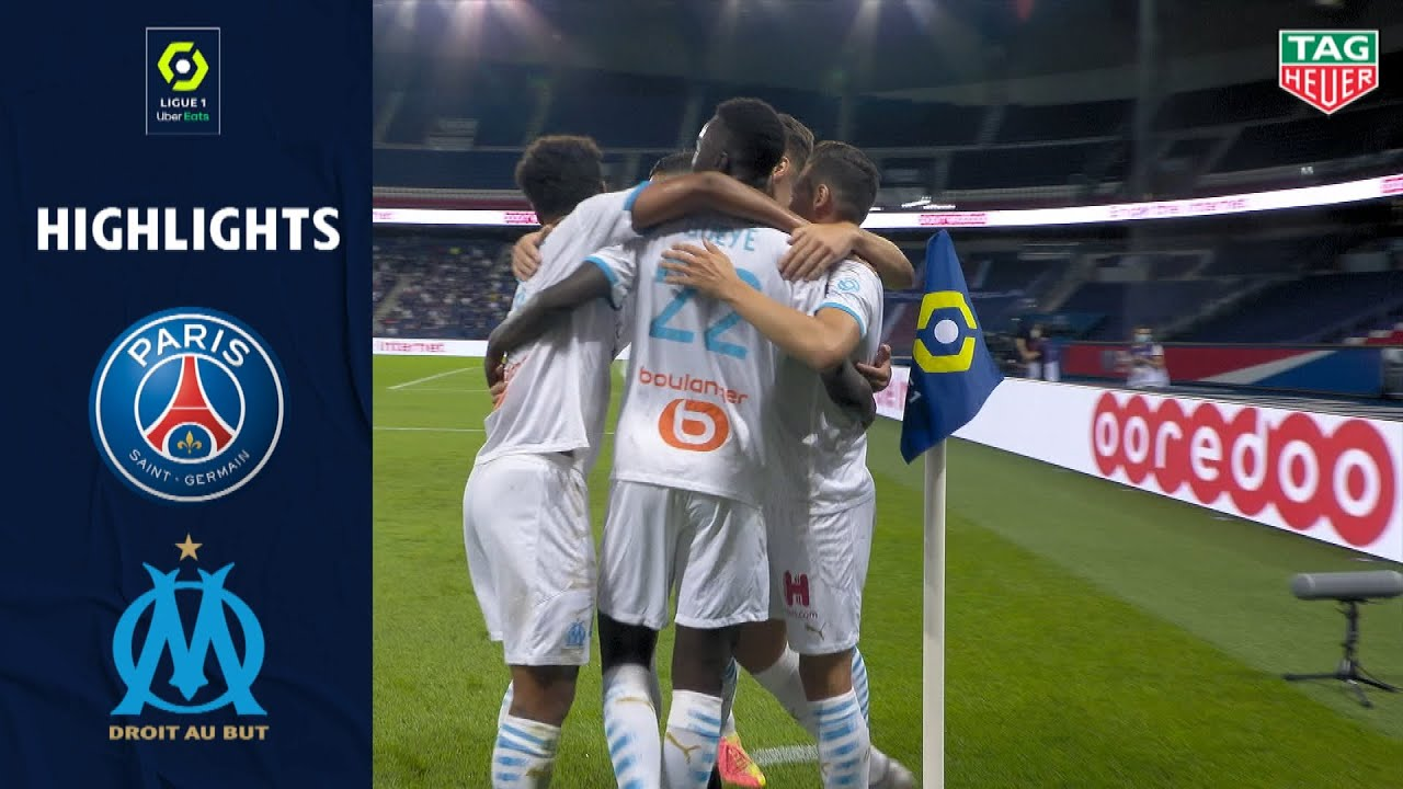 PARIS SAINT-GERMAIN - OLYMPIQUE DE MARSEILLE(0 - 1 ) - Highlights - (PARIS SG - OM) / 2020/2021