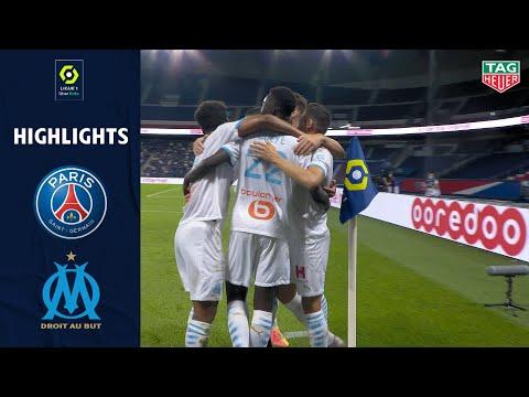 PARIS SAINT-GERMAIN - OLYMPIQUE DE MARSEILLE(0 - 1 ) - Highlights - (PARIS SG - OM) / 2020/2021