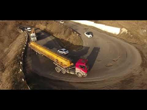 М-ГРУПП: Перевозка мостовых балок в Джермук, Армения