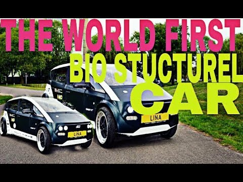 This is Lina-The world's first bio stucturel car in london!!🚗🚘🚔