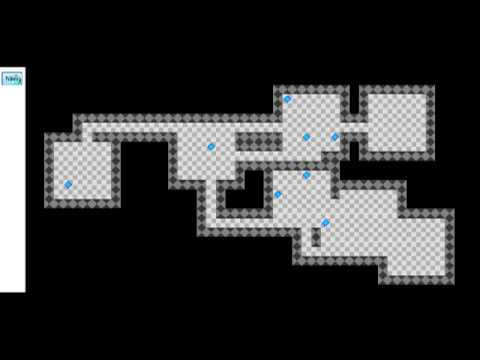Procedural Terrain Generation 3 - 2D Roguelike Dungeon and Cave (C# and WPF)