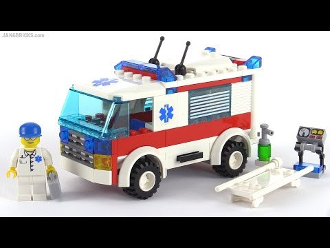 Lego city ambulance from 2006 set 7890 youtube - Lego ambulance ...