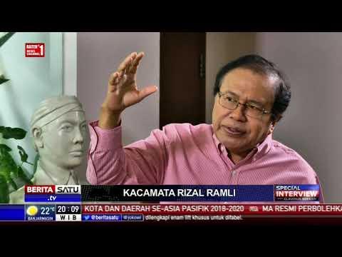 Special Interview With Claudius Boekan: Rizal Ramli: Saya Dipecat Karena Konspirasi #1