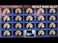 Free Wolf Run slot machine by IGT gameplay - YouTube