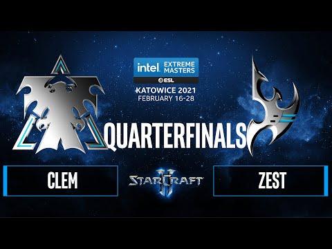 SC2 - Zest vs. Clem - IEM Katowice 2021 - Quarterfinals