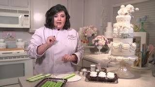 How To Make Brooches For Fancy Cakes With Marina Sousa