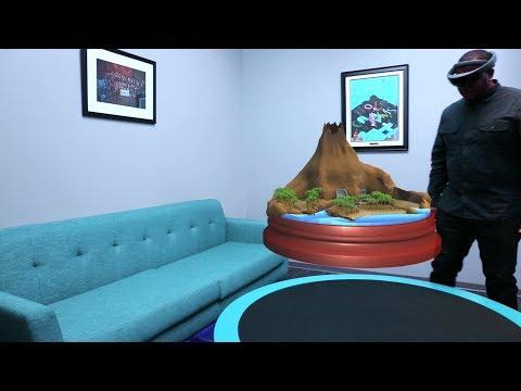 Microsoft HoloLens: Course 250 - Ch. 1 - Holo World