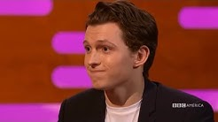 tom holland being confused and awkward for 7 minutes