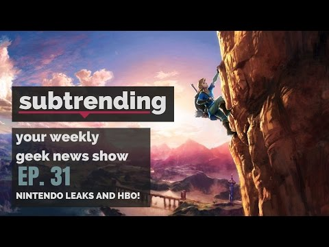 NINTENDO LEAKS AND HBO NEWS! | Westworld, Game of Thrones, Legend of Zelda & MORE