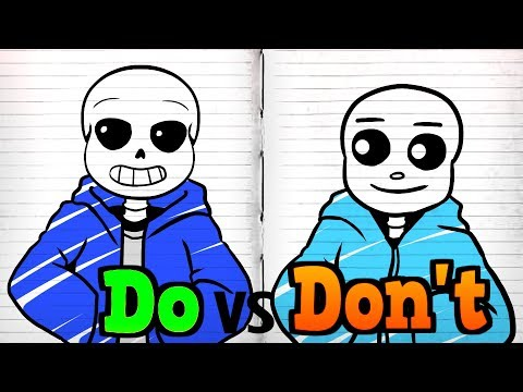 drawing-undertale-characters-from-memory!-1-minute-challenge