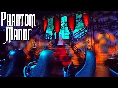 [4K-Extreme Low Light] Phantom Manor 2019 - Exclusive Night - Disneyland Paris