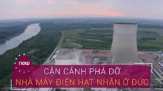 Cận cảnh phá dỡ nhà máy điện hạt nhân ở Đức | VTC Now