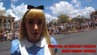 Festival of Fantasy Parade at Walt Disney World: Character Interaction