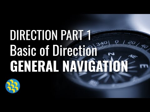 Direction #1 - Basic of Direction, General Navigation ATPL - Answering ATPL