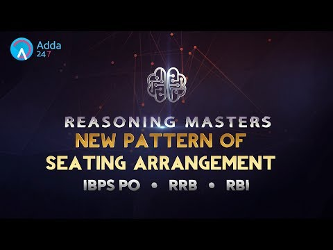 IBPS RRB PO | Seating Arrangement Tricks | Reasoning | Online Coaching for SBI IBPS Bank PO