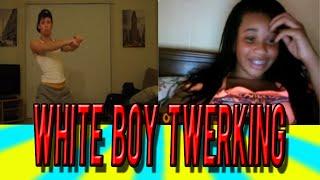 Funny Reactions On Omegle | White Boy Twerking To Birthday Cake