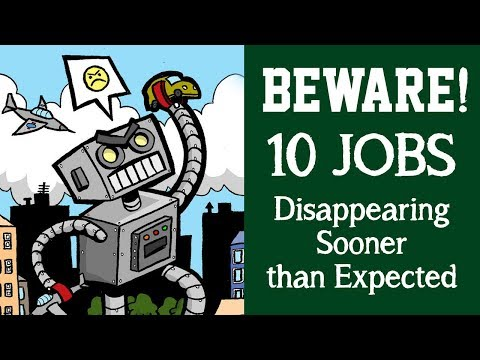 Be Aware ! 10 jobs Disappearing Sooner than Expected | Fourth Industrial Revolution | Prep4School