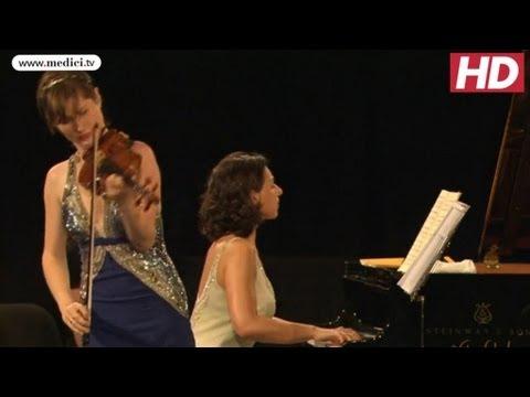Lisa Batiashvili and Khatia Buniatishvili - Schubert Sonata for Violin and Piano