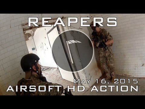 REAPERS AIRSOFT HD ACTION May 16, 2015 (G&G Top Tech MP5 SD6)