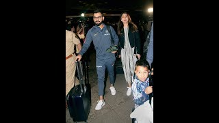 Virat Kohli checks in with Anushka as India arrive in South Africa for Test series