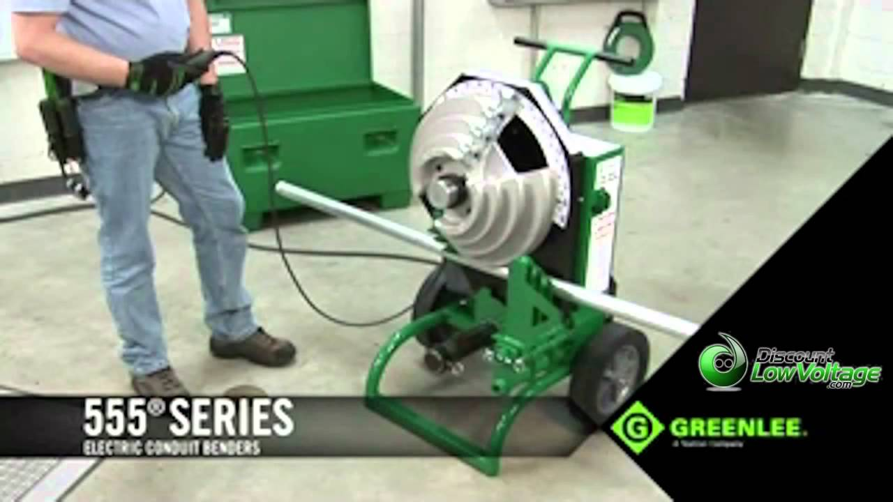 Greenlee 555 Deluxe Electric Conduit Bender Youtube Pvc Electrical Pipe View Wiring Pigeon