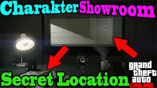 GTA 5 Online CHARAKTER SHOWROOM Glitch *SOLO* [Secret Location/Geheimer Ort] | 1.35 NHW HD