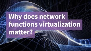 Why Does Network Functions Virtualization Matter?