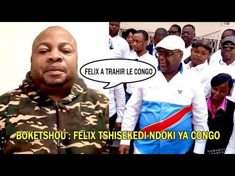 BOKETSHOU TRES FACHE RÉPOND FELIX TSHISEKEDI NDOKI YA CONGO AKO PRÊTÉ SERMENT TE LOBI LA LUTTE CONTI