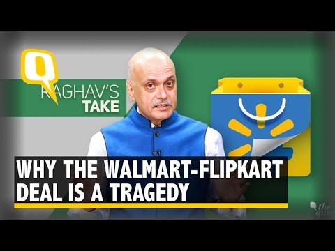 Walmart-Flipkart Deal: Govt Policies  Hamstring Our Entrepreneurs