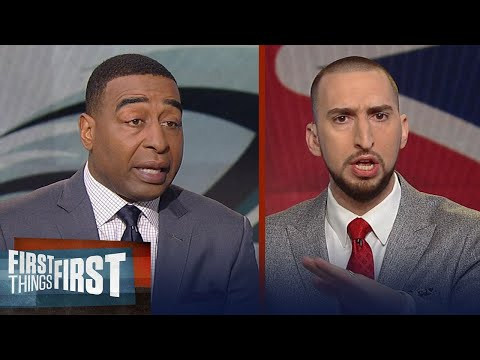 Nick and Cris react to the Eagles beating the Patriots to win Super Bowl LII | FIRST THINGS FIRST