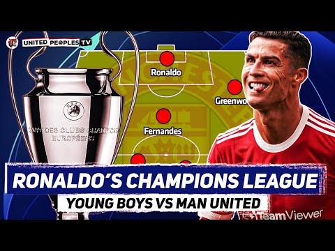 Young Boys vs Man Utd   RONALDO Champions League No.6?   Predicted Starting XI