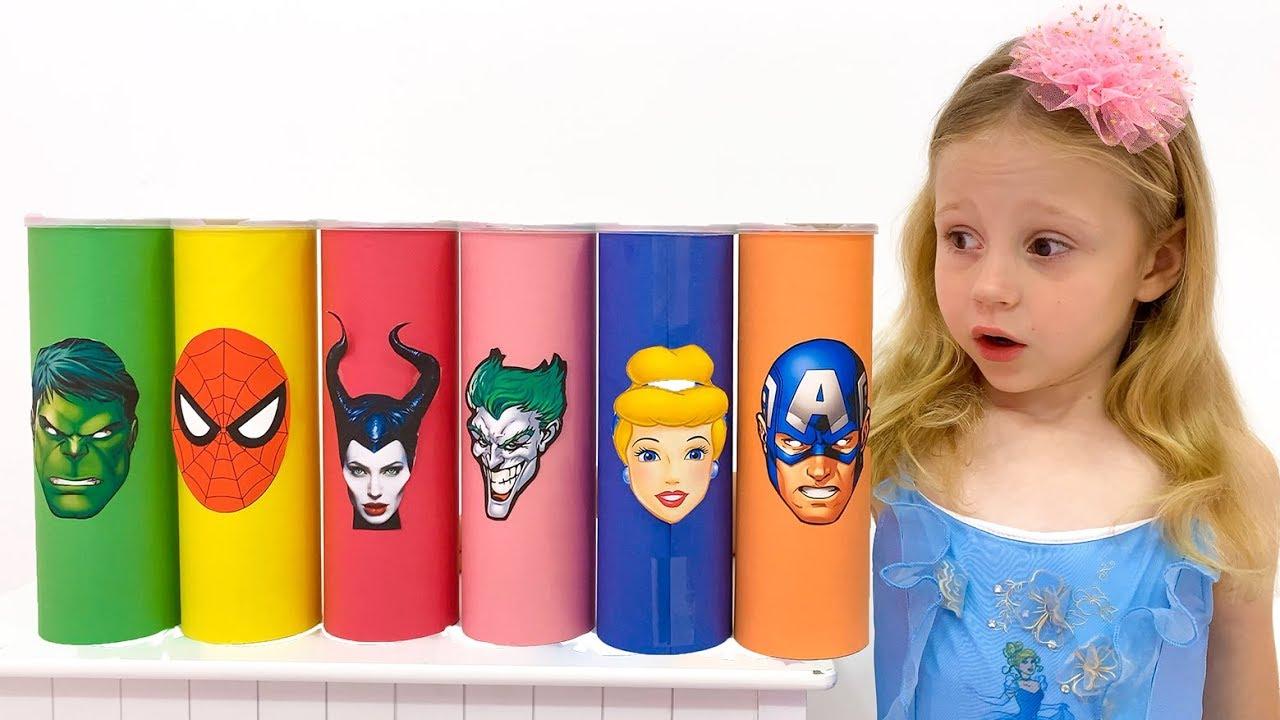 Nastya y sus amigos se convierten en superhroes