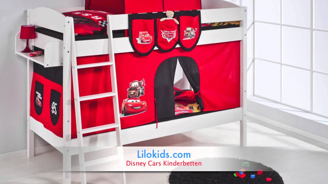 Disney Cars Kinderbetten Übersicht - Lilokids.com - YouTube