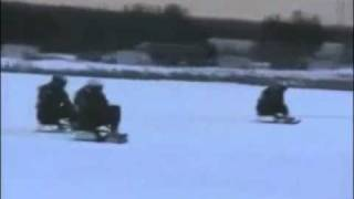 Swedish Airforce Jet Sledding