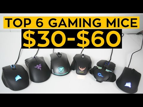 The TOP 6 Budget Gaming Mice For 2017!
