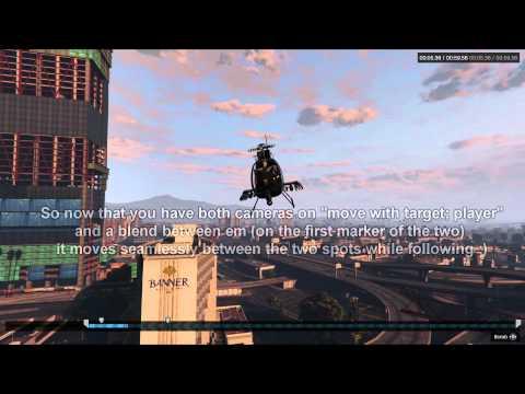 GTA V Rockstar Editor camera angle tutorial (PS4)
