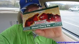Reed Reviews Krispy Kreme Glazed Cherry Pie