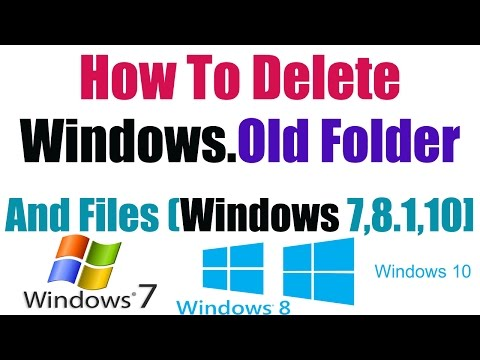 [Hindi] How To Delete Windows Old Folder And Files ( Windows 10 ) || Technical Naresh