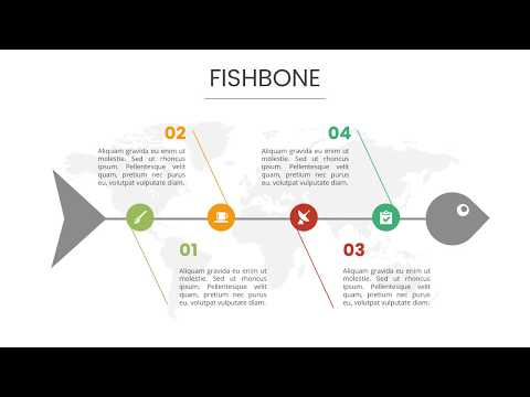 Fishbone Diagram Powerpoint Template Presentation Templates