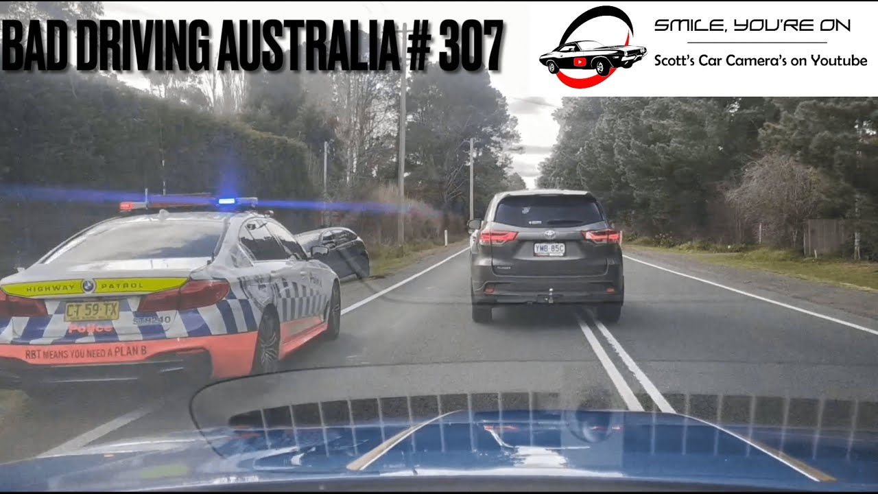 BAD DRIVING AUSTRALIA # 307